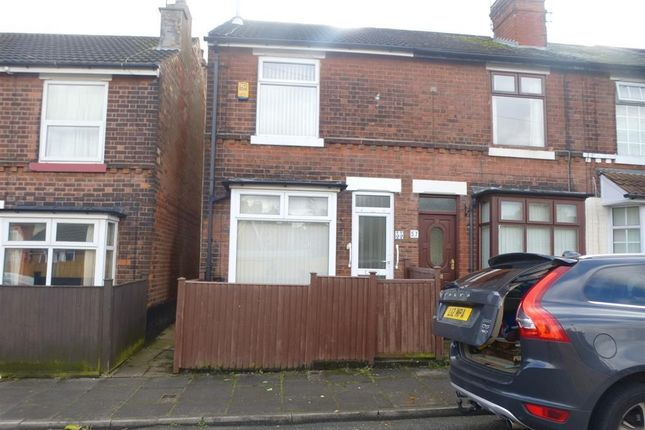 Thumbnail Terraced house to rent in Sadler Street, Mansfield