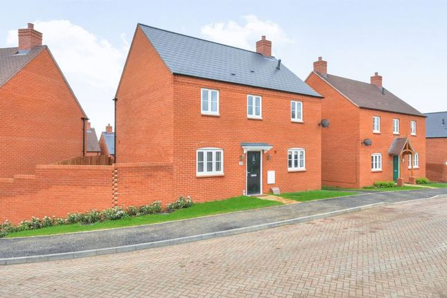 Thumbnail Detached house for sale in Quarry View, Roade, Northampton
