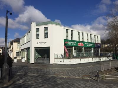 Thumbnail Commercial property for sale in Ty Penderyn, High Street, Merthyr Tydfil