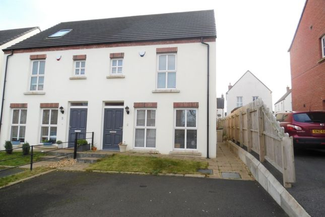 Thumbnail Semi-detached house to rent in Blackrock Park, Newtownabbey