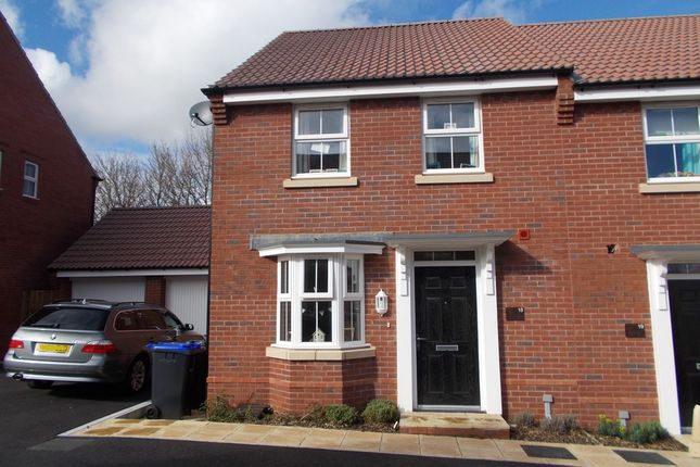 3 bed semi-detached house for sale in Cossington Square, Westbury