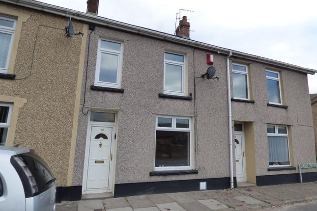 Thumbnail Terraced house to rent in Queens Crescent, Rhymney, Tredegar