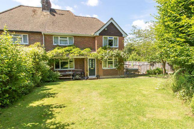 Thumbnail Semi-detached house for sale in Deanery Road, Crockham Hill, Edenbridge