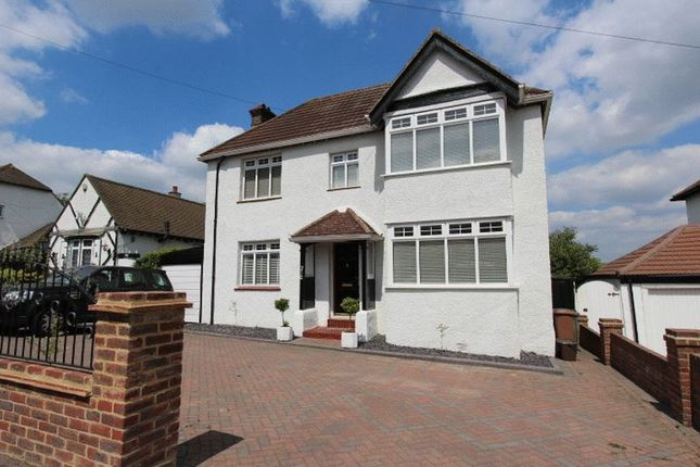 Thumbnail Detached house for sale in Stanley Park Road, Carshalton