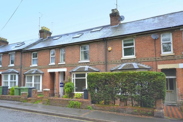 Thumbnail Terraced house to rent in Stockbridge Road, Winchester, Hampshire