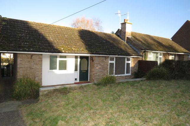 Thumbnail Terraced bungalow for sale in The Green, Stretton On Fosse, Moreton-In-Marsh