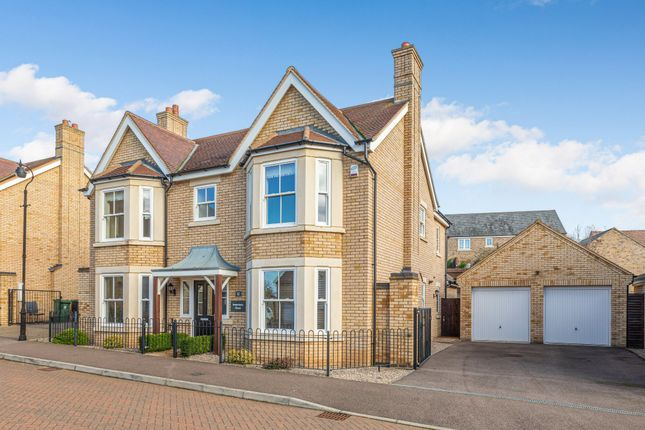 Thumbnail Detached house for sale in Livingstone Way, Fairfield, Herts