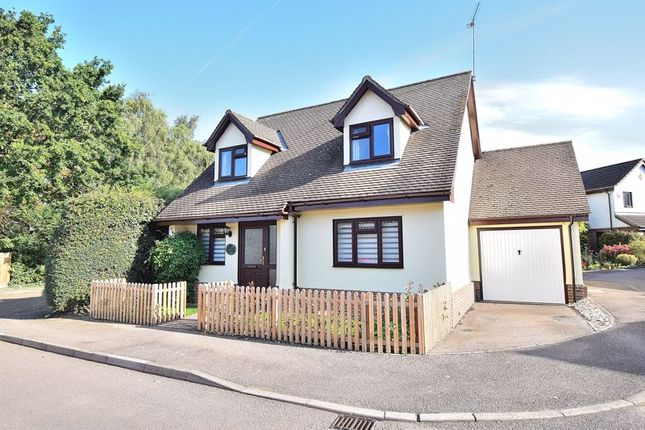 Thumbnail Detached house for sale in Wetherly Close, Harlow