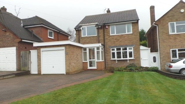 Thumbnail Detached house for sale in Honeyborne Road, Sutton Coldfield, West Midlands