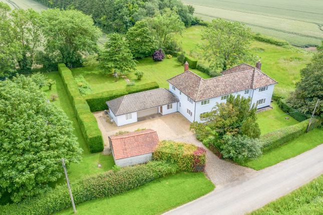 Thumbnail Detached house for sale in Bradley Road, Kirtling, Newmarket