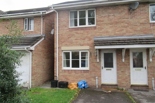 Thumbnail End terrace house to rent in Llys Eglwys, Maes-Yr-Hendre, Broadlands, Bridgend