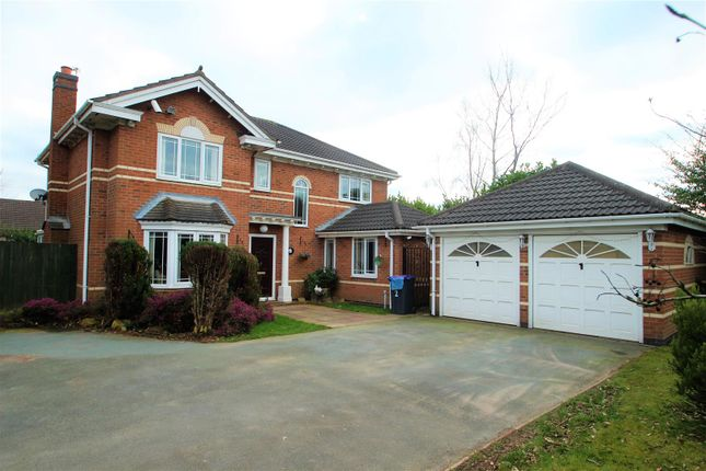 Thumbnail Detached house to rent in Highgrove Meadows, Priorslee, Telford