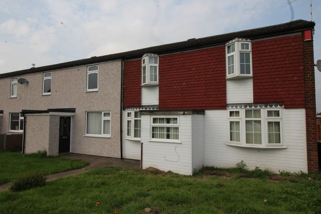 Thumbnail End terrace house for sale in Ansley Road, Nuneaton, Warwickshire