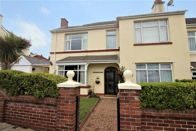 Thumbnail Semi-detached house for sale in Headland Park Road, Paignton