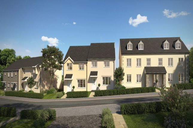 Thumbnail Terraced house for sale in Treskerby Woods, Redruth
