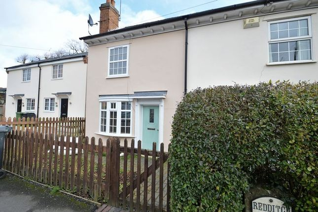 Thumbnail End terrace house for sale in Evesham Road, Headless Cross, Redditch