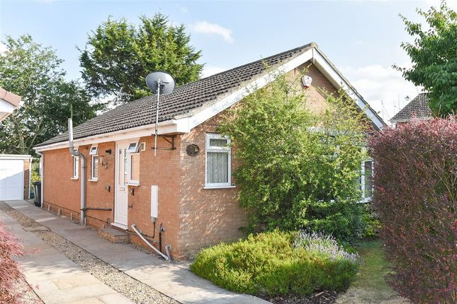Thumbnail Detached bungalow for sale in Loriners Drive, Copmanthorpe, York