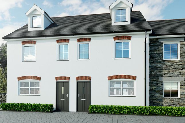 Thumbnail End terrace house for sale in Tolgullow Crescent, Tolgullow, St Day