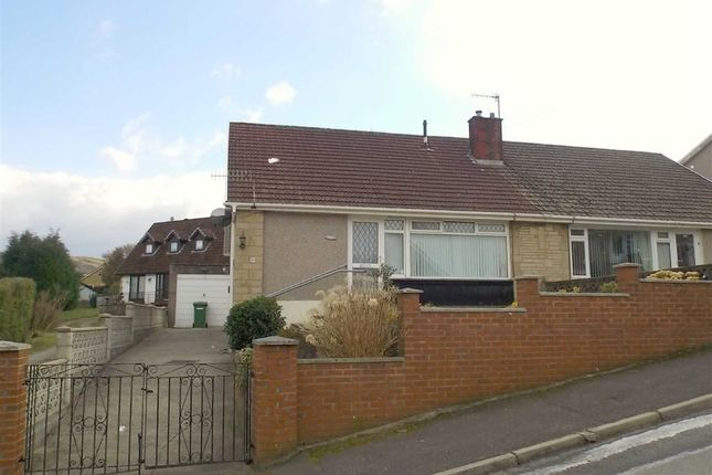 Thumbnail Semi-detached bungalow for sale in Coed Isaf Road, Maesycoed, Pontypridd