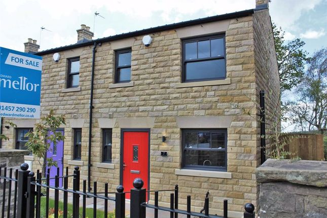 3 bed terraced house for sale in Church View Cottages, Charlesworth, Derbyshire SK13