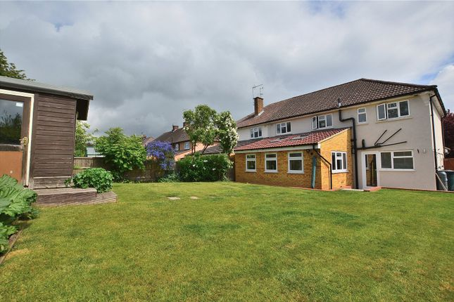 Thumbnail Semi-detached house for sale in St. Johns Crescent, Stansted