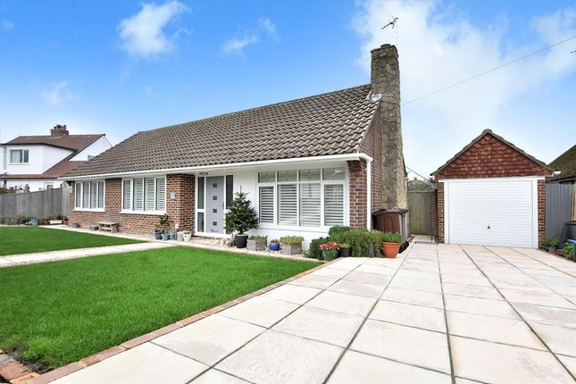 Thumbnail Detached bungalow for sale in Oldfield Road, Willingdon, Eastbourne