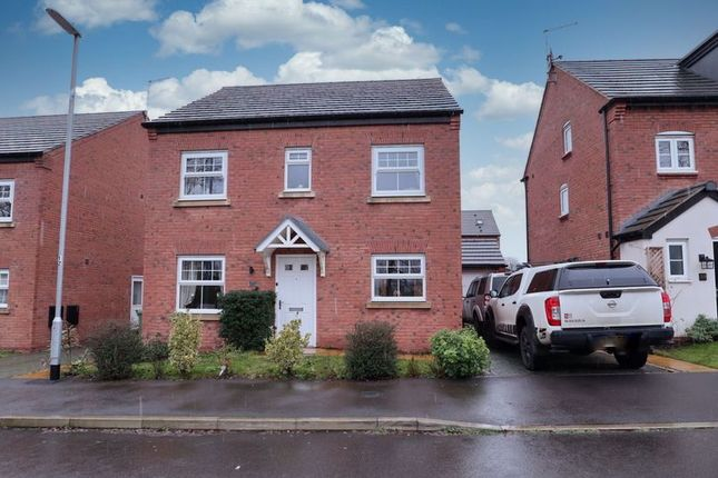 4 bed detached house for sale in Pearl Brook Avenue, Stafford ST16