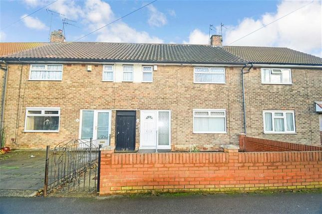 Thumbnail Terraced house for sale in Shannon Road, Longhill, Hull