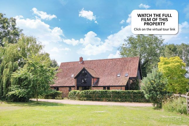 Thumbnail Barn conversion for sale in Mattishall Road, East Tuddenham, Dereham