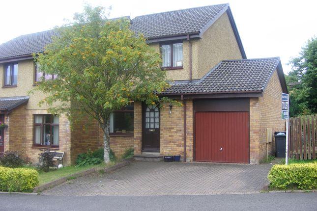 Thumbnail Semi-detached house to rent in Braeside Park, Mid Calder, Livingston