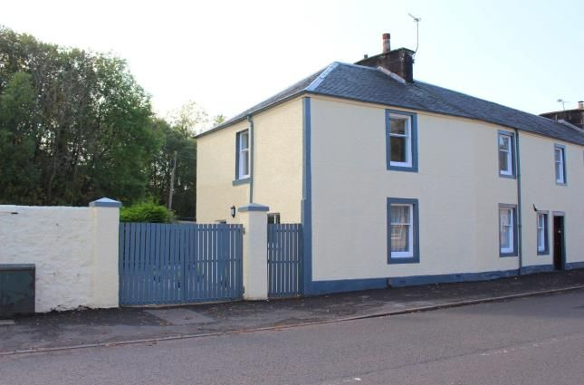 Thumbnail End terrace house for sale in Low Barholm, Kilbarchan, Johnstone