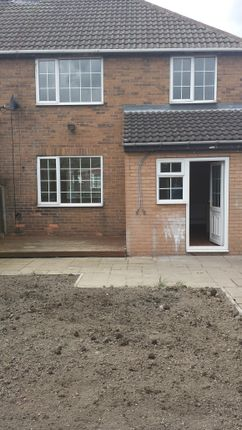 Back Garden - Clayton Drive - 3 Bed Semi For Rent In Thurnscoe