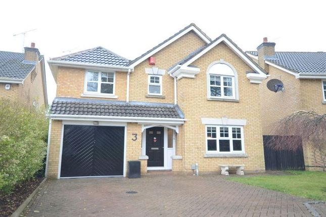 Thumbnail Detached house to rent in Hanson Close, Camberley
