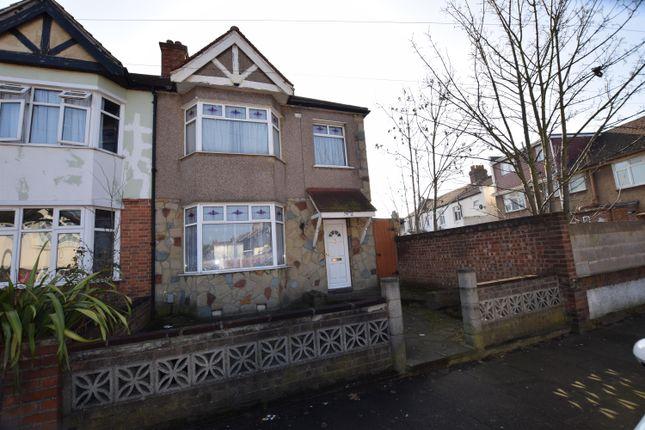 Thumbnail End terrace house for sale in Cavenham Gardens, Ilford