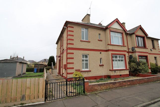 Thumbnail 2 bedroom flat to rent in Oswald Avenue, Grangemouth