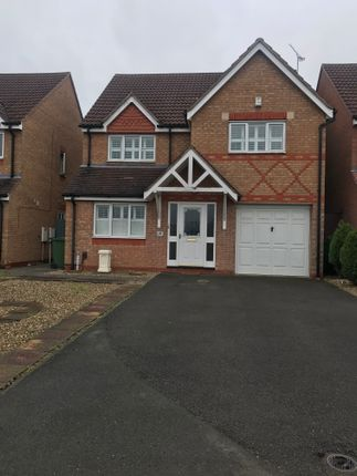 Thumbnail Detached house to rent in Jewsbury Way, Thorpe Astley