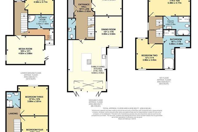 Floor Plan of Northen Grove, West Didsbury, Didsbury, Manchester M20