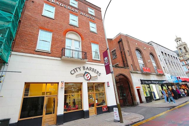 Thumbnail Flat to rent in Rutland Street, Leicester