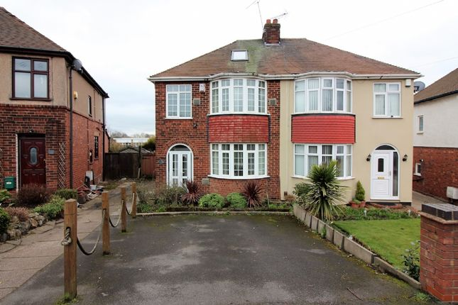 Thumbnail Semi-detached house for sale in Bentley Road North, Walsall