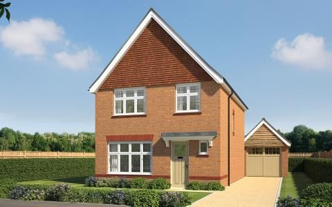 Thumbnail Detached house for sale in Eagle Drive, Tamworth, Staffs