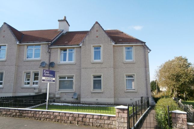 Thumbnail Flat for sale in Abercrombie Crescent, Bargeddie, Glasgow