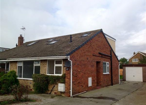 Thumbnail Semi-detached bungalow for sale in Heath Moor Drive, Fulford, York