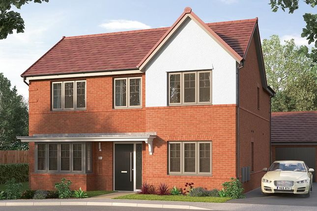 """Thumbnail Detached house for sale in """"The Modbury"""" at Etwall Road, Mickleover, Derby"""