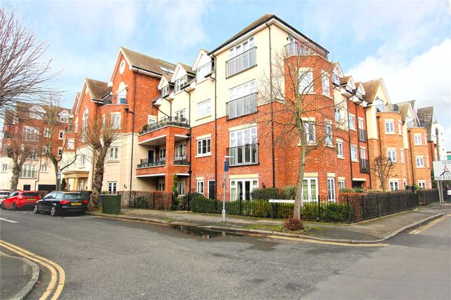 Thumbnail Flat for sale in Rosemount Avenue, West Byfleet, Surrey