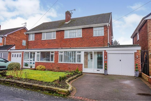 3 bed semi-detached house for sale in Hillside Crescent, Pelsall, Walsall WS3