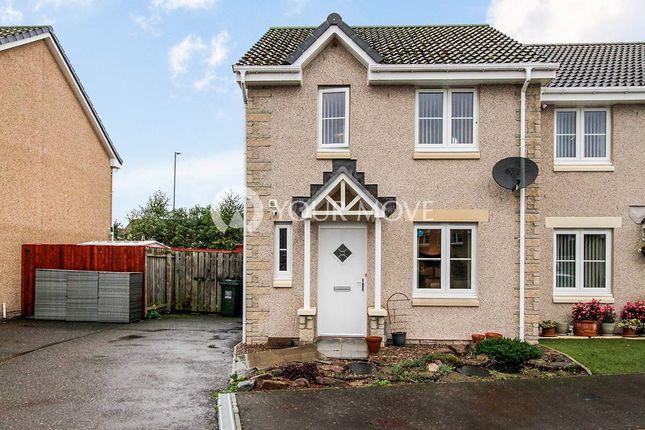 Thumbnail Semi-detached house for sale in Linkwood Avenue, Elgin, Moray