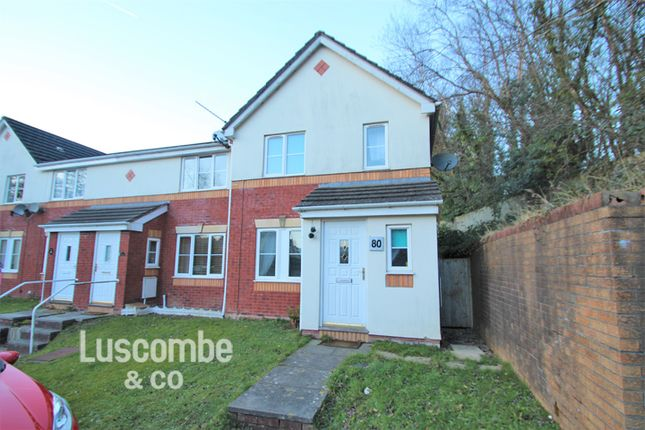 Thumbnail Semi-detached house to rent in Cedar Wood Drive, Rogerstone