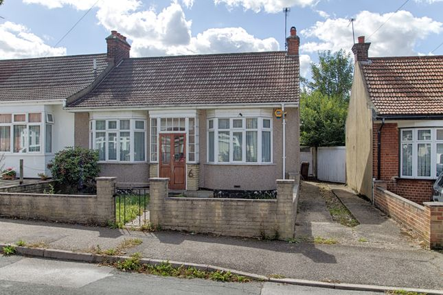 Thumbnail Semi-detached bungalow for sale in Mark Avenue, London