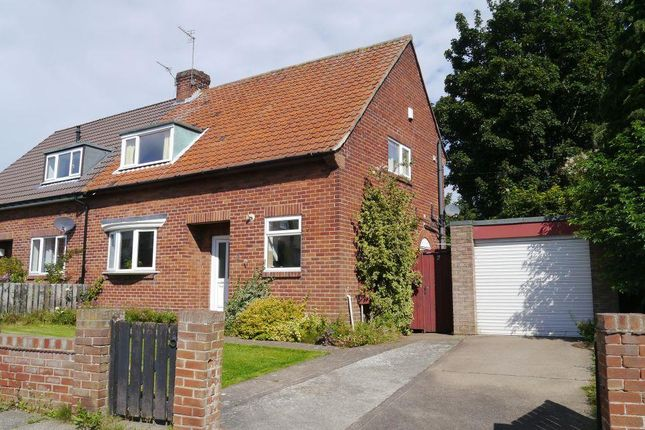 Thumbnail Semi-detached bungalow to rent in Thornhill Road, Ponteland, Newcastle Upon Tyne