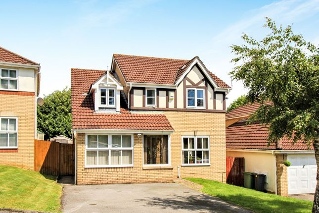 Thumbnail Detached house for sale in Hastings Crescent, Old St Mellons, Cardiff